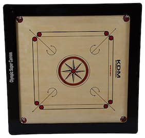 KDm sports Olympic Super Carrom Board
