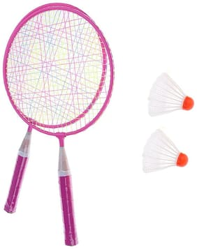 Kids Boy Girl Mini Badminton Rackets with Storage Bag Outdoor Indoor Sport Game Toys