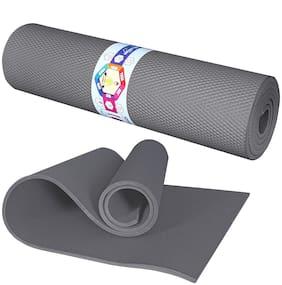 Kids Mandi Grey Latex rubber Yoga mat - 1 pc