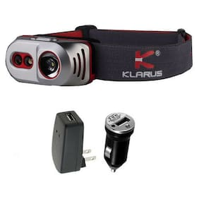 Klarus H1A Rechargeable Headlamp -550 Lumens -Battery Included w/USB Adaptors