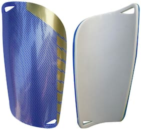 Kobo 2232 13.97 cm (5.5 Inch) Football Shin Guard (Blue)