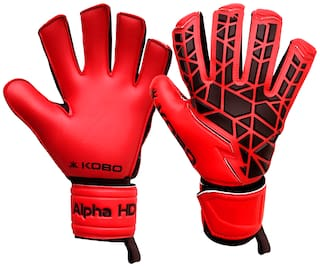 Kobo Red Small Football Goal keeping glove