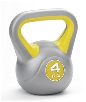 Kobo 4 Kg Kettlebell-Red And Black