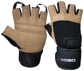 Kobo Fitness Gloves-Brown