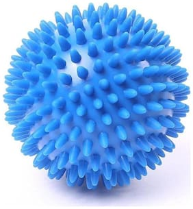 Kobo Health And Yoga Spongy Reflex Ball for Stress Relieving Massage |Spikes for Sensory Stimulation |Suitable for Hand and Body (Imported)