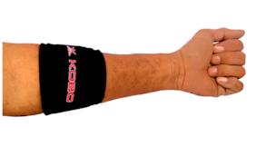 Kobo Neoprene Tennis Elbow Support-Black