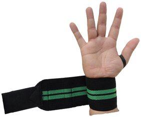 Kobo Power Wrist Weight Lifting Training GYM Strap-Black