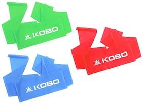 Kobo Multi Rubber Resistance band - Set of 3