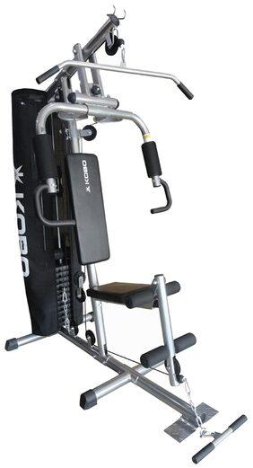 Kobo Single Station Multi Home Gym Equipments-Grey