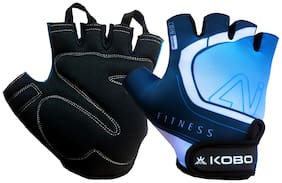 Kobo WTG-20 Gym Gloves / Fitness Weight Training Hand Protector