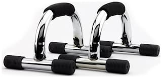 Konex Power Rubber Coated Handle Push Up Bars Stand Steel