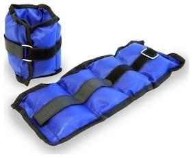Konnex Ankle Weights - Adjustable Wrist Weight for Walking, Jogging, Gymnastics, Aerobics 2kg
