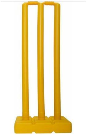 Konnex cricket stumps plastic stumps set of 3 stumps
