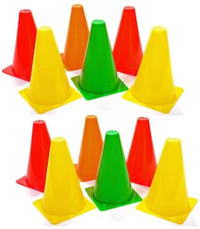 """KONNEX marker cones 12 marker cone in one pack size 6 """""""