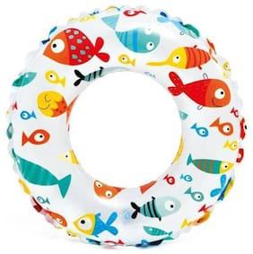 "KRYPTON MAX In Tex Swimming Tube 20"" Inflatable Pool Accessory (Multicolor) CB-2"