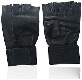 Krypton Max Gym Gloves,Gloves For Gym,Leather Gym Gloves;Wrist Support;Fitness Gloves