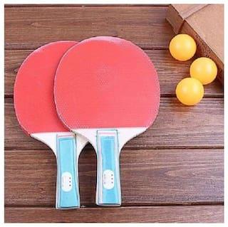 kudos 1Set Table Tennis Ping Pong Paddle Student Bat High Quality Training
