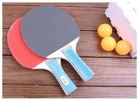 kudos 1Set Table Tennis Ping Pong Paddle Student Bat High Quality Training