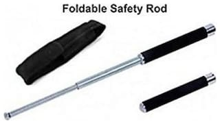 kudos  FOLDING ROD WITH FOAM PADDED HANDLE FOR-SECURITY GUARD & GIRLS SELF DEFENCE