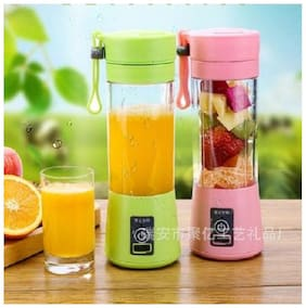 kudos Multi-functional USB Charging Juicer Cup Rechargeable Juice Blender Portable Fruit Mixer, Water Bottle (pack of 1)