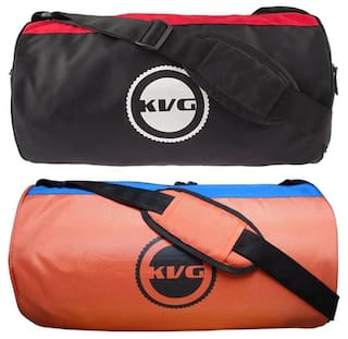 a5f4cfc9280c Buy KVG Combo Gym Bag Pack Of 2 Online at Low Prices in India ...