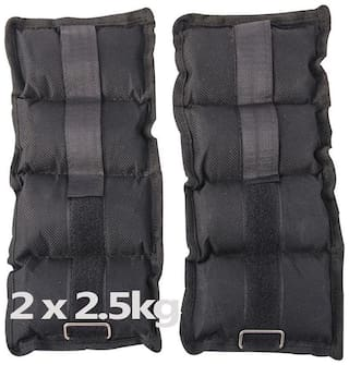 Kya Chaiyea best quality ankle weights 2.5 kg each, one pair