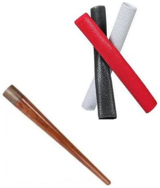 Kya Chaiyea Best quality bat grips combo with bat cone (4pcs)