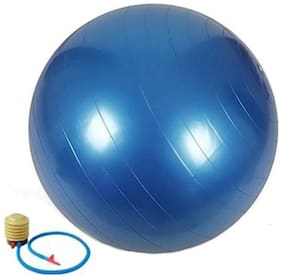 kyachaiyea Body Fitness and Abdominal Toner Gym Ball with Foot Pump for Total Body workout (with pump)