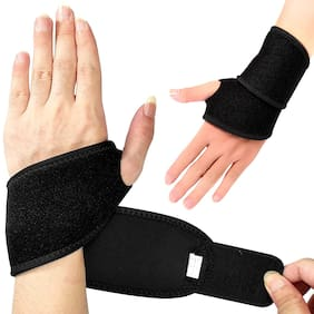 Kyachaiyea Thumb Support,Wrist Band Wrist Support,Palm Support For Gym And Home Exercise Stay Fit Pack Of 1 Thumb Supporter