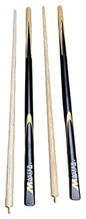 Laxmi Ganesh Billiard Snooker and Pool Cue Stick (Tip Size 9 mm) - 2 Pcs