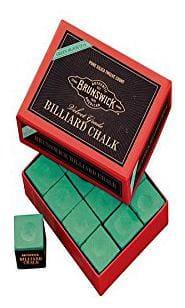 Laxmi Ganesh Billiard Laxmi Ganesh Billiard Snooker Brunswick Green Chalk 12 pcss