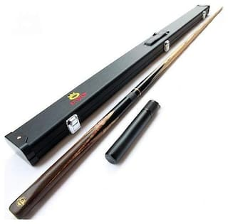 Laxmi Ganesh Billiard Combo of Snooker Omin cue Extension with cue case by Omin (Original)