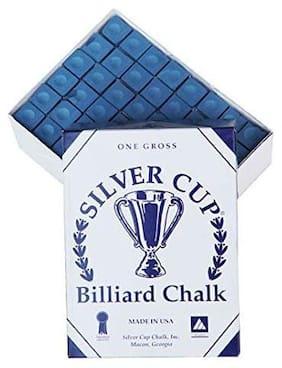 Laxmi Ganesh Billiard Silver CUE Billiard Chalk -144pcs