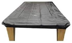 Laxmi Ganesh Billiard Mini Snooker Dust Cover Black (5.5 x 10.5 ft)