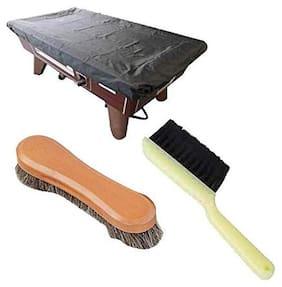 Laxmi Ganesh Billiard Combo of Snooker Table Cover;Cushion Brush N Brush(12)