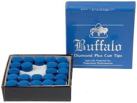Laxmi Ganesh Billiard Buffalo Diamond Plus Cue Tip 9MM (50 pcss)