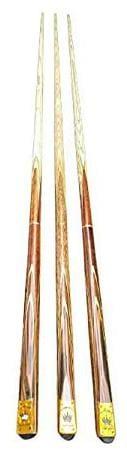 Laxmi Ganesh Billiard Snooker Billiard Tournament Cue Stick - 3 pcs