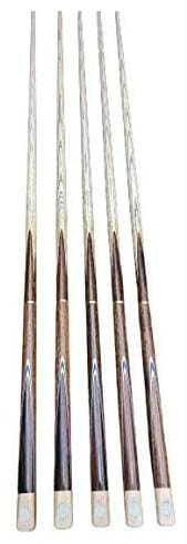 Laxmi Ganesh Billiard Snooker Billiard Quarter Joint Academy Master Pro Butt Cue Stick with Extension in 9mm Tip Size (Pack of 5)