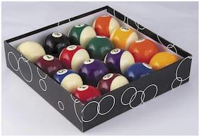 Laxmi Ganesh Billiard American Pool Table Ball Set - 16 Balls