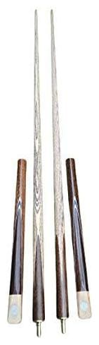Laxmi Ganesh Billiard Snooker Billiard Quarter Joint Academy Master Pro Butt Cue Stick with Extension in 9mm Tip Size (Pack of 2)