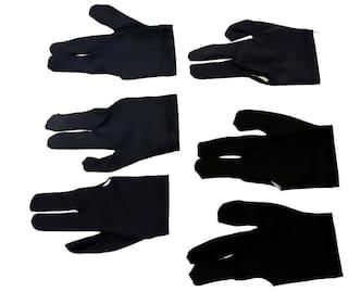 Laxmi Ganesh Billiard Billiard Professional Gloves (Set of 6 pcs)