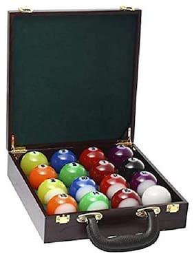 Laxmi Ganesh Billiard Combo of Pool Ball Set and Ball case