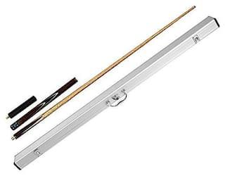 Laxmi Ganesh Billiard Combo of Billiard Snooker BLP Cue Stick with Extension and Aluminum Cue Case