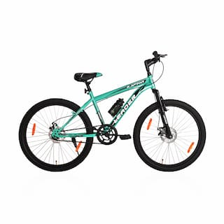 Leader Raptor MTB 26T Mountain Bicycle/Bike Without Gear Single Speed with Front Suspension and Dual Disc Brake for Men