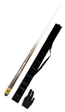 LGB Billiard & Snooker Handmade Quarter Vacuum Joint Cue with One Cue Cover and Glove