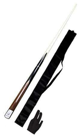 LGB Snooker & Billiard L.P Quarter Cue Without Extension (Vacuum Joint) with One Cue Cover and Glove