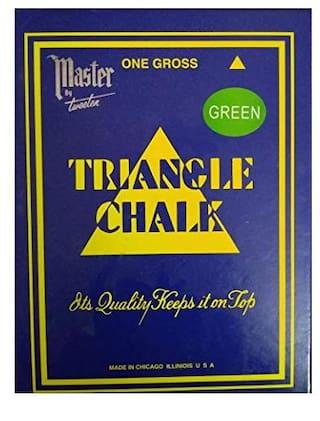 LGB Snooker Chalk 144 Piece