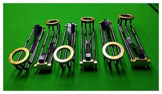 LGB Snooker;Billiard and Pool Table Railing Set with Golden Finish