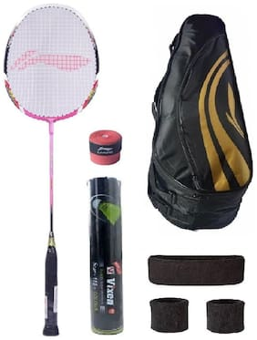 Li-Ning Combo of XP-70 Badminton Racquet & 4 Other items
