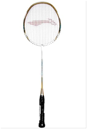 Li-Ning G-Force 3100 I Strung Badminton Racquet With One Li-Ning Over Grip Free